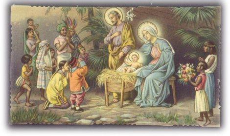 Buon natale a tutti cristiani e pagani luci e ombre di for Immagini sacre da colorare